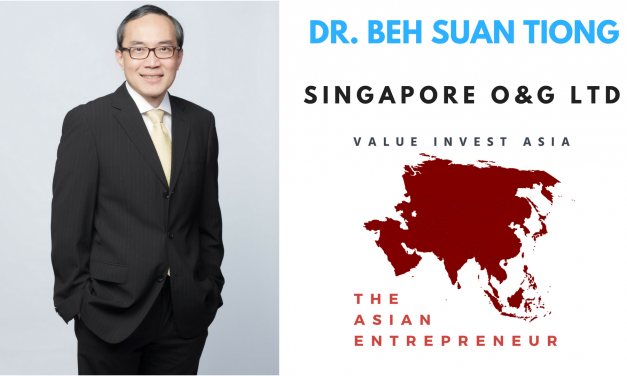 #4 The Asian Entrepreneur – Dr. Beh Suan Tiong (Singapore O&G Ltd) With Full Transcript