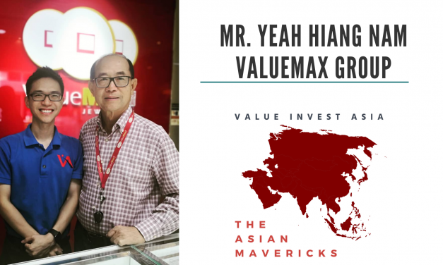 #12 The Asian Mavericks – Mr. Yeah Hiang Nam (ValueMax Group)