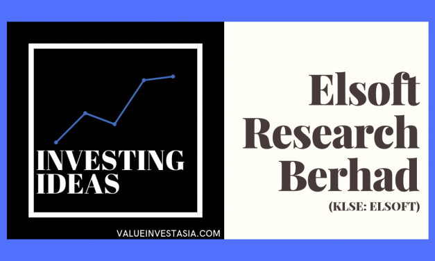 #2 Investing Ideas – Elsoft Research Berhad (KLSE:ELSOFT) (Plus REVIEW)