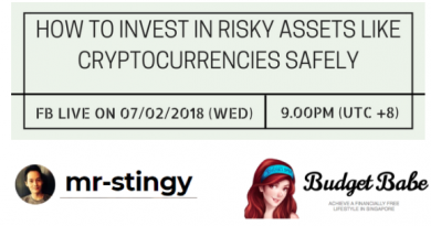How To Invest In Risky Assets Like Cryptocurrencies Safely – Facebook Live (Feb 2018)