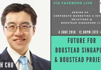 Interview With Keith Chu from Boustead Singapore